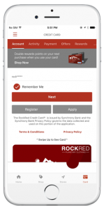 Mobile payments - mobile app