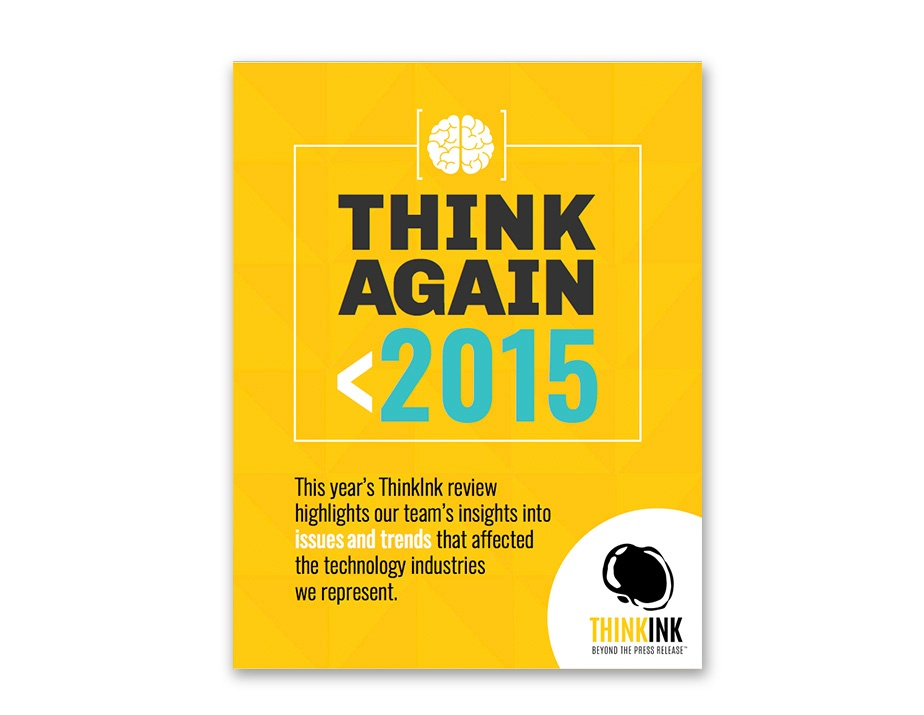 Think Again: 2015 a Year in Review