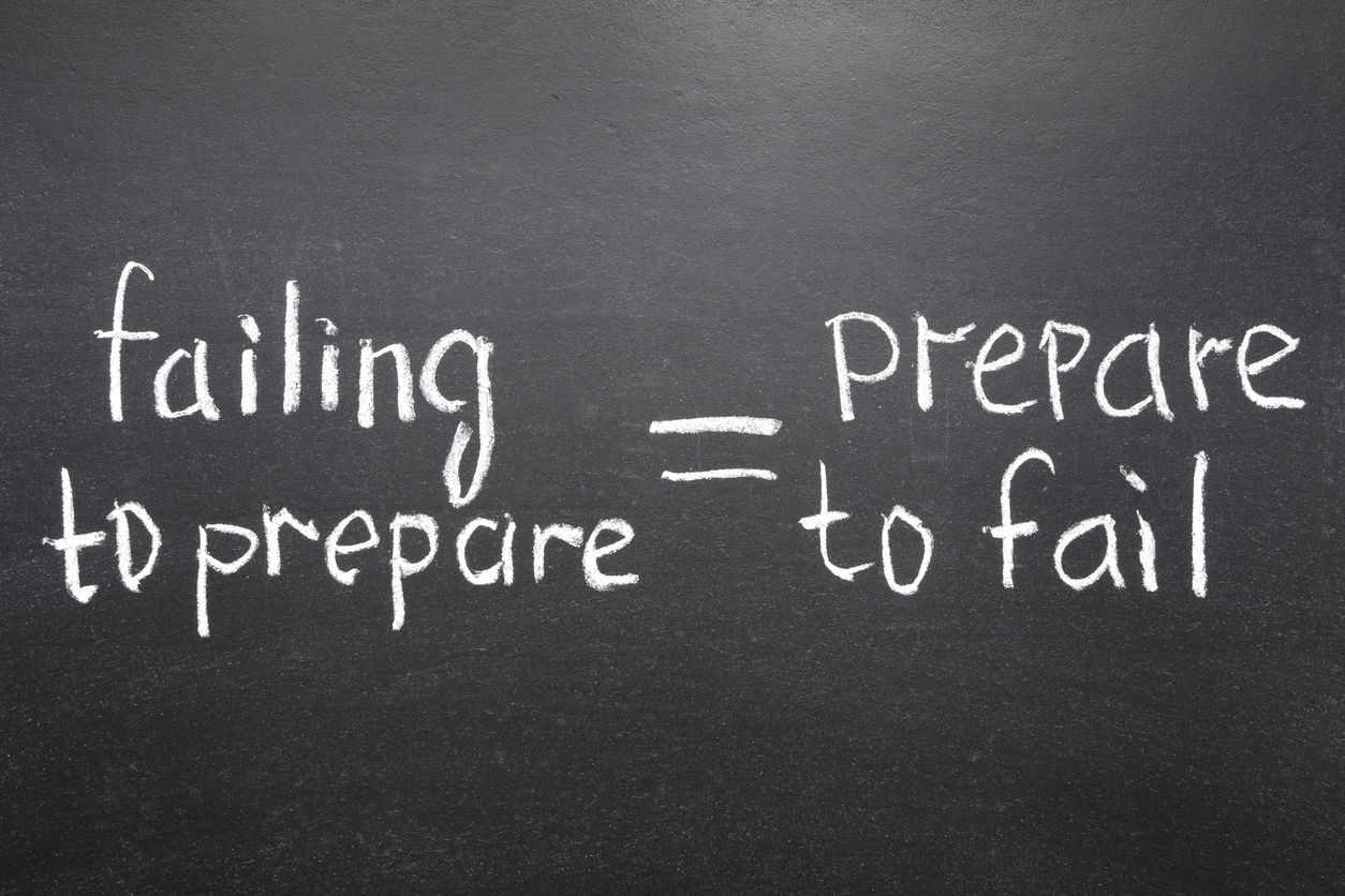 Failing to prepare = prepare to fail when it comes to B2B PR