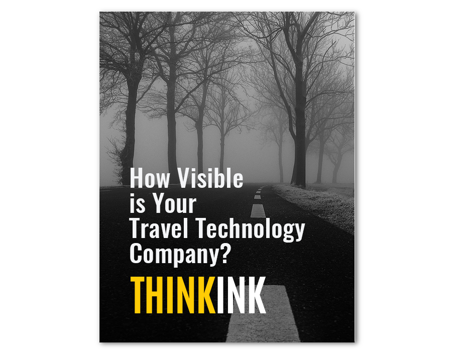 B2B Visibility for Traveltech Ebook Cover Image