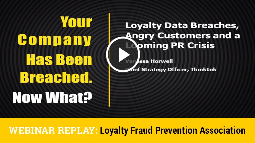 Crisis PR, and the Loyalty Numbers Game