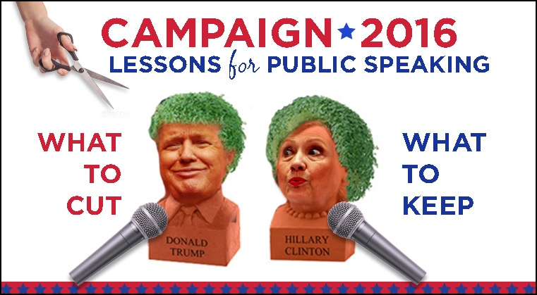 What this Year's Presidential Election Should Teach You (for Your Next Speaking Engagement)