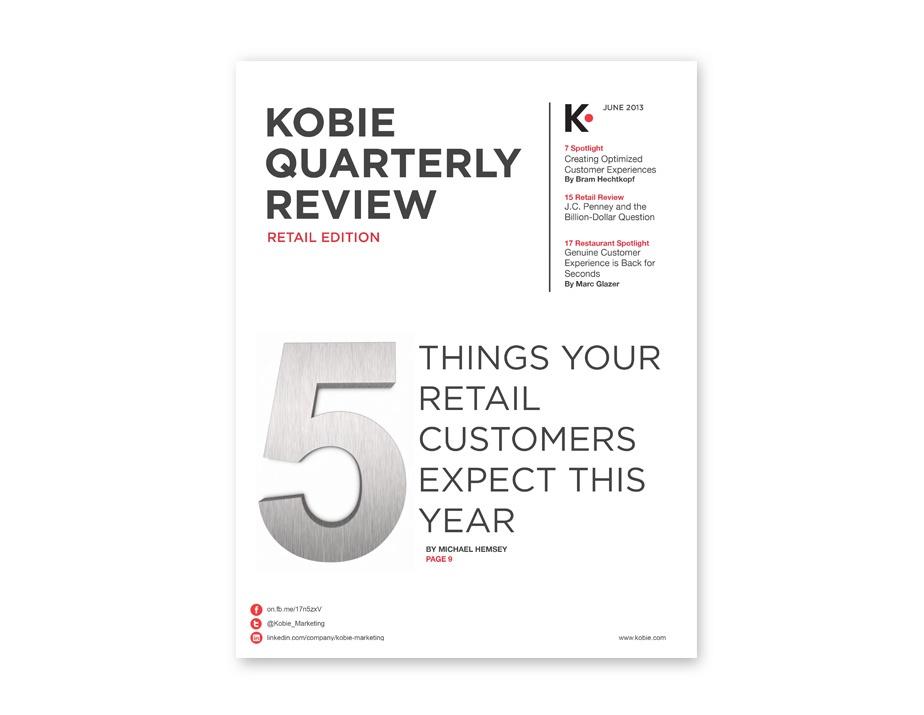 KOBIE QUARTERLY REVIEW RETAIL EDITION