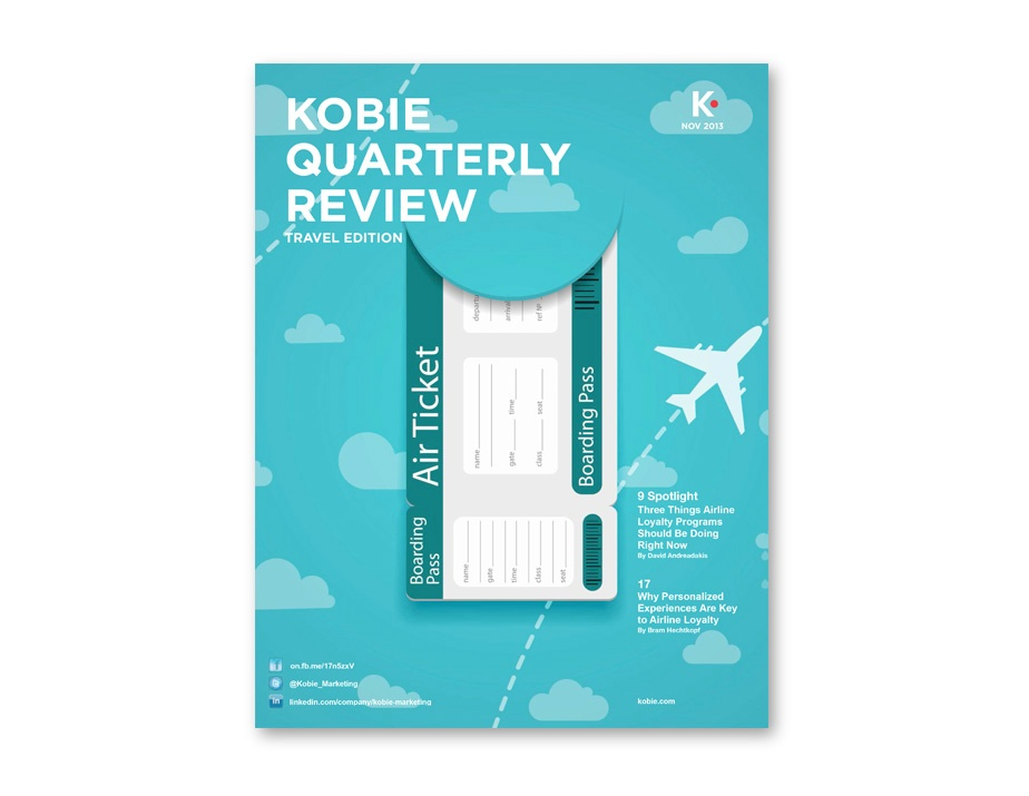 KOBIE QUARTERLY REVIEW TRAVEL EDITION