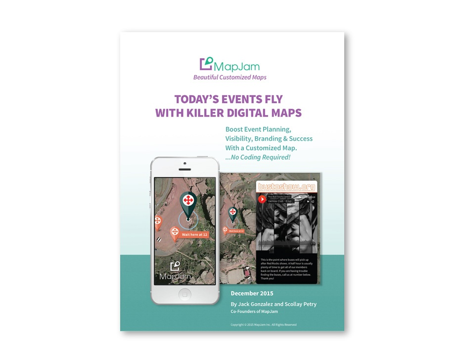 TODAY'S EVENTS FLY WITH KILLER DIGITAL MAPS